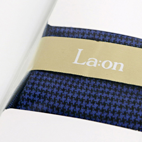 -La:on-92463 Hound Tooth Check Socks (4Color)