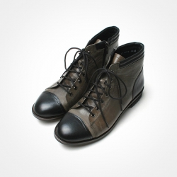 81868 Premium FA-054 Shoes (Black+Khaki)