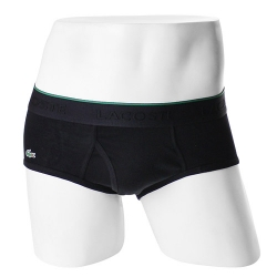 -LACOSTE- 93569 Supima Cotton Brief (Black)