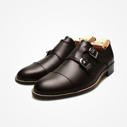 94783 Premium FA-193 Monk strap Shoes (2Color)