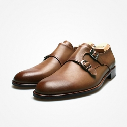 94784 Premium FA-194 Monk strap Shoes (4Color)