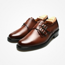 94788 Premium FA-198 Monk strap Shoes (2Color)